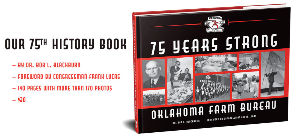 Oklahoma Farm Bureau's 75th anniversary book 75 years strong