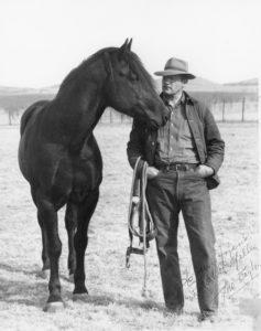 John I. Taylor on his Comanche County ranch