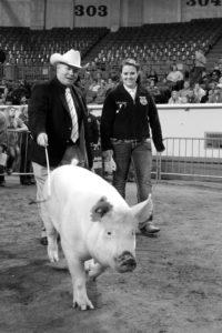 OKFB President Mike Spradling at the Oklahoma Youth Expo.